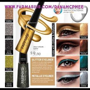 Farmasi Glitter and Metallic Liquid Eyeliner